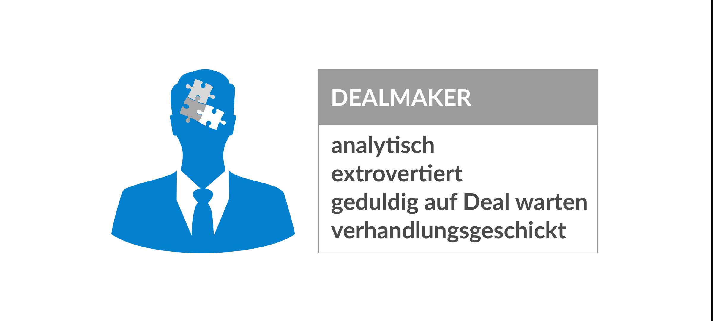 Persönlichkeitstypen Dealmaker