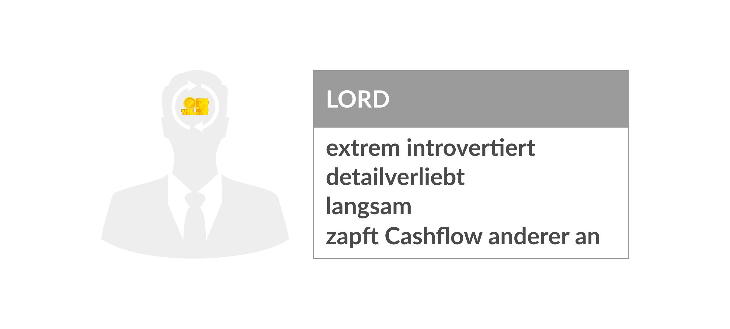 Persönlichkeitstypen Lord
