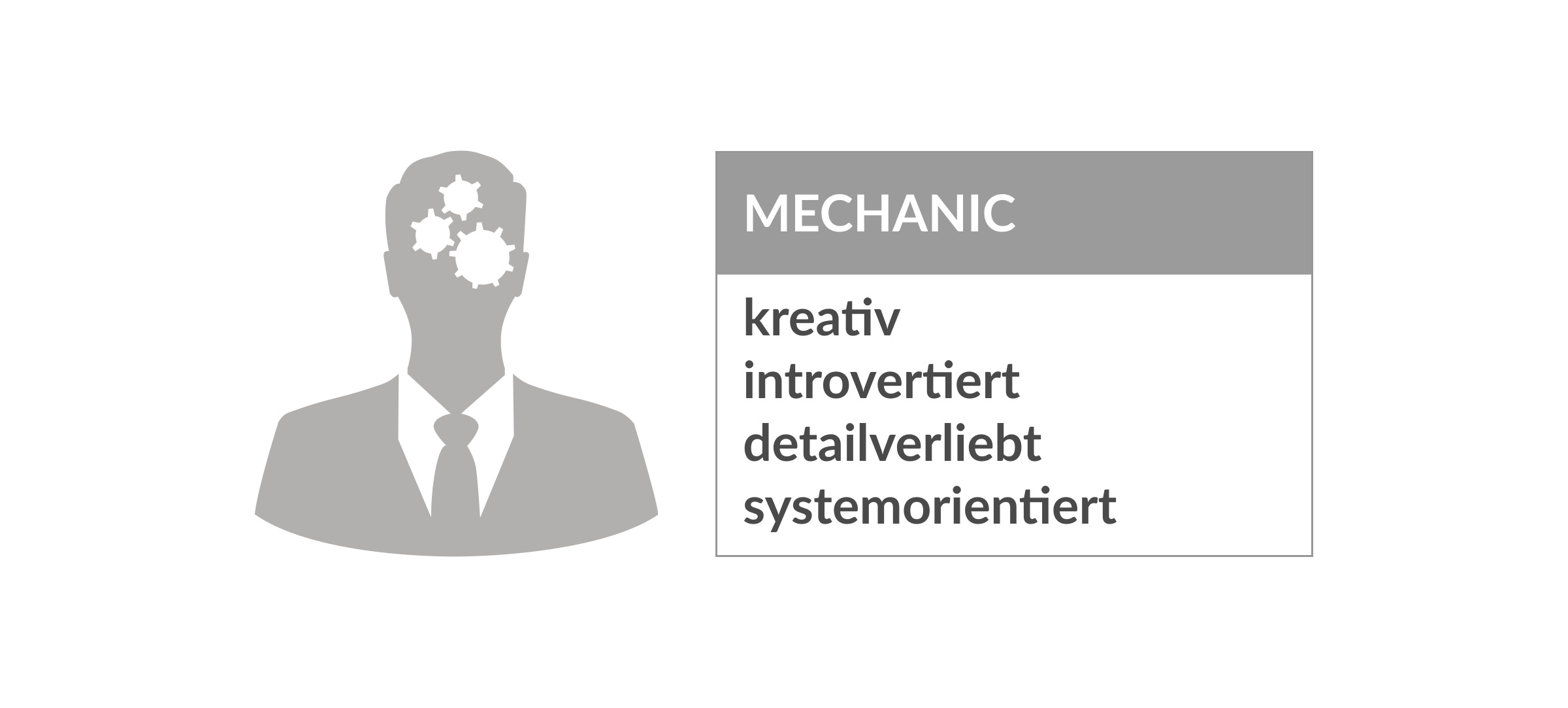 Persönlichkeitstype Mechanic